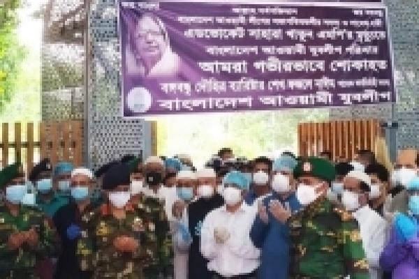 Sahara Khatun laid to rest at Banani graveyard