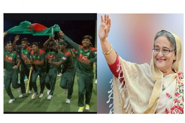 PM greets national cricket team for winning ODI series