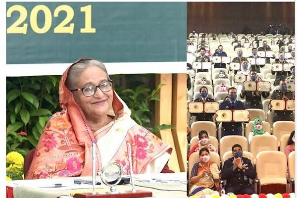 DSCSC graduates will work as soldiers of 2041's Bangladesh: PM