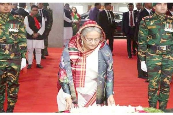 PM pays homage to Bangabandhu on historic March 7