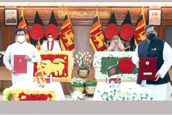 Dhaka, Colombo sign 6 MoUs