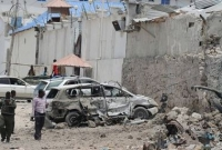 At least 14 killed in Somalia hotel attack