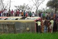 20 injured at Jhenaigati Road Accident