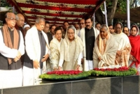 PM pays homage to Bangabandhu on his 97th birthday