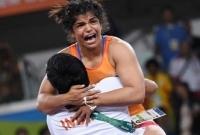 Female wrestler who won India's first Rio medal