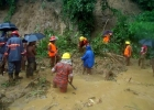 4 army men among over 50 killed in landslides in 3 districts