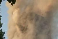 Fire engulfs Grenfell tower block in west London