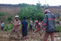 Landslide death toll reaches 135