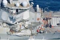Seven US Navy crew missing after crash