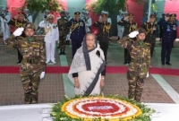 PM pays homage to Bangabandhu in Tungipara