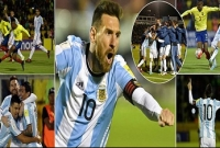 Messi hat-trick secures Argentina's passage to World Cup