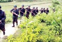 Myanmar Army opens fire along border