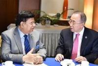 Ban seeks political solution to Rohingya crisis