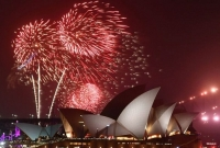 World rings in the new year amid wildfires, protests