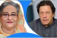 Imran Khan phones Sheikh Hasina to know about corona situation