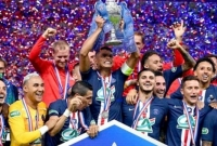 PSG win French Cup as fans return