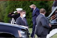 Trump, first lady Melania test Covid-19 positive