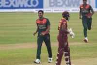First One-Day: Bangladesh beat West Indies by 6